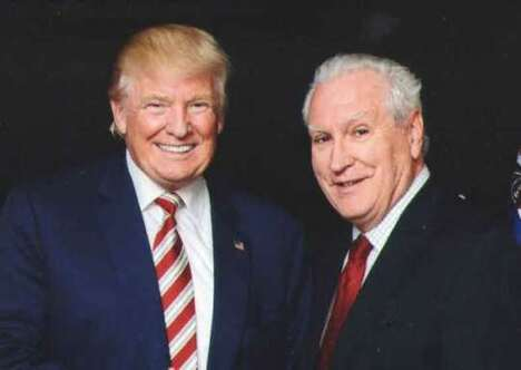 Historian Doug Wead, with President Donald J. Trump